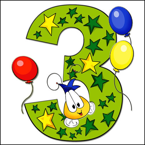 Happy 3rd Birthday To My Blog Angelsbeauty S Blog Happy 3rd Birthday Wishes To My